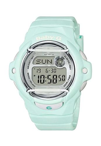 CASIO green Casio Baby-G Pastel Green Resin Watch E1F35ACA1C0A1DGS_1