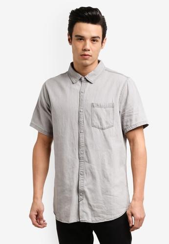 Cotton On grey 91 Short Sleeve Shirt CO372AA0RCQ7MY_1