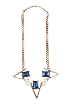 Pearl And Jewels Necklace
