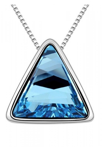 LOVENGIFTS blue Beautiful Fate Pendant Necklace (Blue) D92DFACF94154EGS_1
