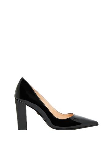 Nina Armando black Kayla Patent Leather High Heel NI342SH0FV90SG_1