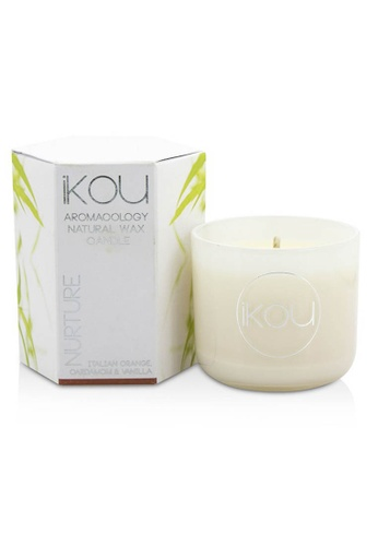 iKOU IKOU - Eco-Luxury Aromacology Natural Wax Candle Glass - Nurture (Italian Orange Cardamom & Vanilla) (2x2) inch 2622CHL4D03E23GS_1