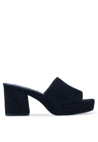 01a84fd70b0 Relax Open Toe Mule Block Heels