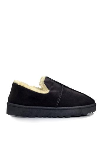 Twenty Eight Shoes 黑色 超暖柔軟毛絨冬鞋 VC709 4C014SH37B6D8CGS_1