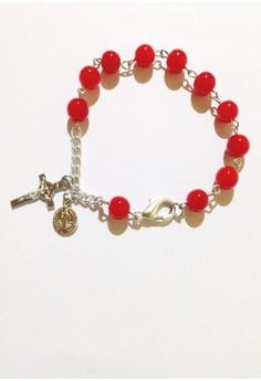 Glass Beads Rosary Bracelet