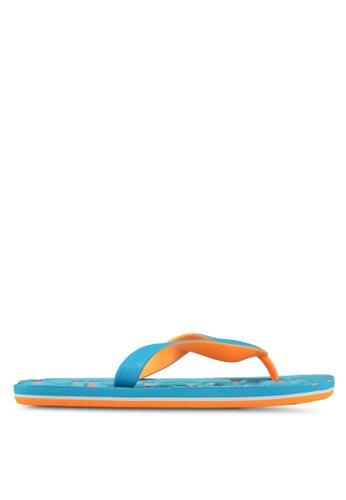 Superdry blue Scuba Flip Flops C2185SHBA662ECGS_1