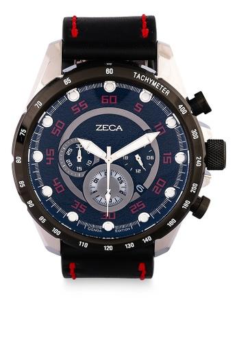 ZECA black Zeca Watches Man Fashion - 2018M Black Silver 05E24AC6CD0FA6GS_1