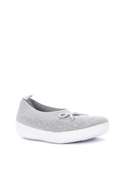 84308f44e3 34% OFF Fitflop Uberknit Slip-On Ballerina With Bow Php 5,990.00 NOW Php  3,970.00 Sizes 5 6 7 8 9