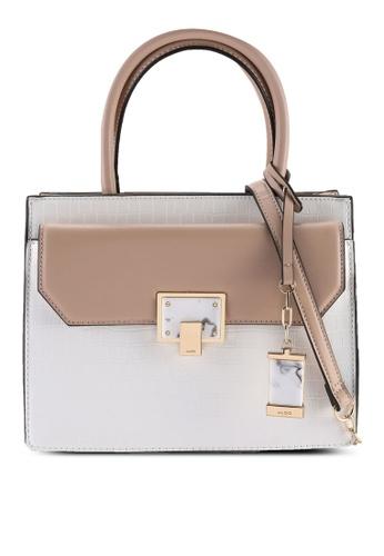 ALDO beige Kaulian Top-Handle Bag 048F5AC00E0AB6GS_1