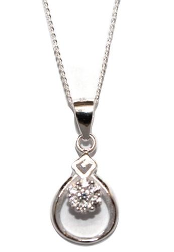 Venice Jewelry silver Comet Necklace VE564AC20HITPH_1