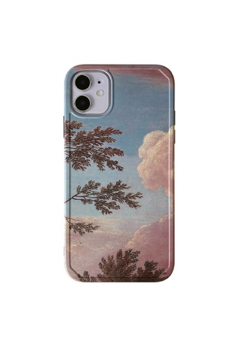Kings Collection blue Sunset Leaves iPhone 11 Pro Case (UPKCMCL2156) BEFD7ACAECD3BBGS_1