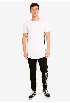 6b6066d62d 31% OFF Just Hype Fells Tape T-Shirt RM 196.00 NOW RM 135.90 Sizes S M L XL
