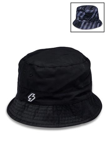 Superdry black Sport Style Bucket Hat 8EB8CACAB1F2B8GS_1