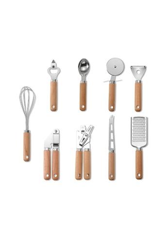 DILAS HOME 9pc Wooden Kitchen Gadget Set 1DF61HL8A31813GS_1