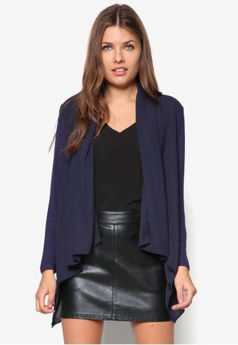 翻領開襟外套, zalora 衣服尺寸服飾, 外套