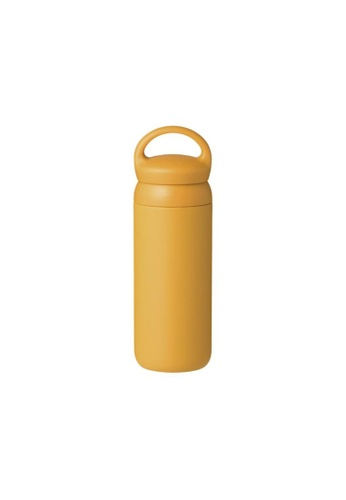 KINTO yellow Kinto Insulated Day Off Tumbler Water Bottle 500ML Mustard F74EAACA913D61GS_1