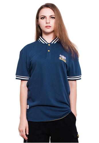 Reoparudo navy RPD Baseball Neck Polo Shirt (Navy Blue) RE413AA0GKZ5SG_1