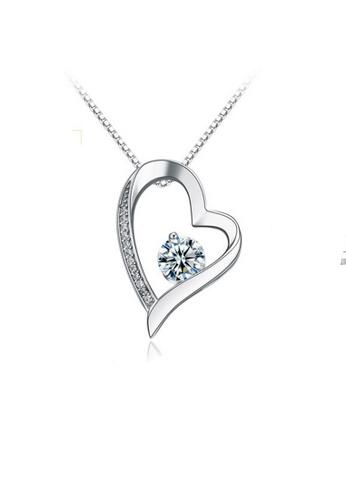 LYCKA silver LPP88179 S925 Silver Necklace D0AB9AC92B528BGS_1