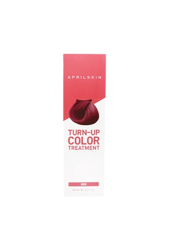 April Skin red Turn-Up Hair color treatment #Red AP949BE54QIJSG_1