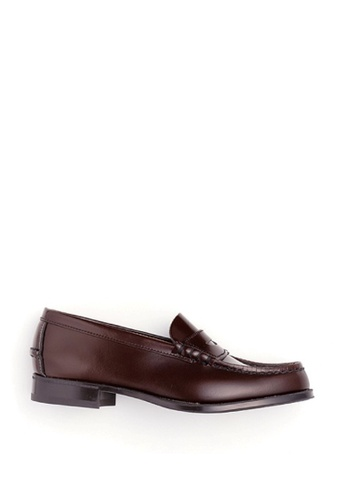 HARUTA brown Traditional loafer-304 E7F18SHCF1F44DGS_1