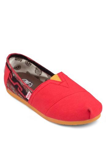 Coahuila 印花拼接懶人鞋, 女鞋, esprit outlet鞋