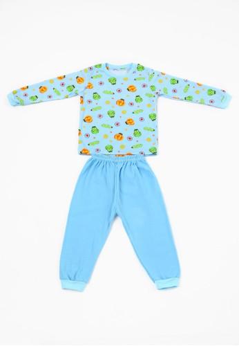Savvaya blue SAVVAYA Cute Blue Sleepwear One Set F72F4KA048F27FGS_1