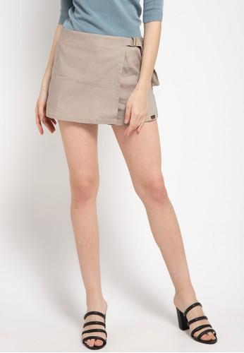 Gaff beige Short Pants Mini 7FC70AA2676DC0GS_1