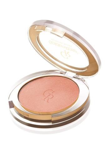 GOLDEN ROSE brown and beige Powder Blush - #2 GO743BE73DWSMY_1