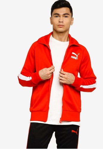 PUMA 紅色 Sportstyle Prime Iconic T7 Track Top 812DCAA07B66FAGS_1