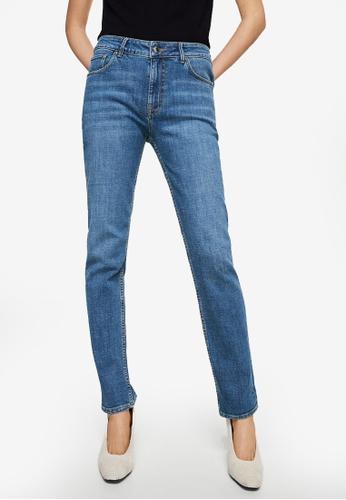 Mango blue Relaxed Lonny Jeans 0E52BAA8E4C983GS_1