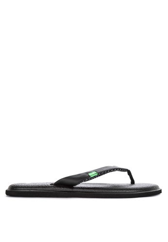 17119be080d9 Shop Sanuk Yoga Chakra Flip Flops Online on ZALORA Philippines