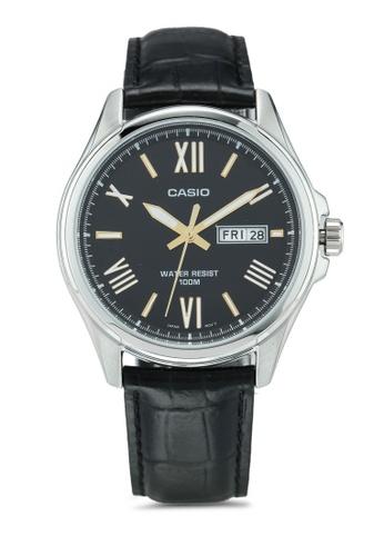 Casio black Casio Watch MTP-1377L-1AVDF 4D79FAC53CD9D5GS_1