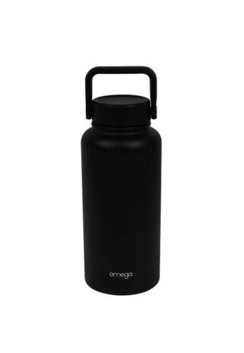 Omega Houseware black Denzell Double Wall Insulater Stainless Steel Bottle Tumbler 950ml 69B80AC2A565E5GS_1