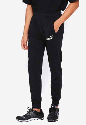 Puma black ESS Logo Pants TR cl 75B48AA1D7FEC9GS_1