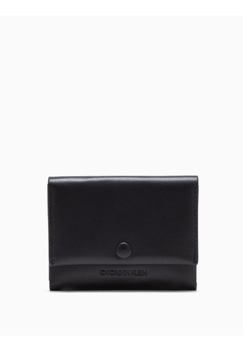 Calvin Klein black Leather Cardholder 8589EAC54A3F9FGS_1
