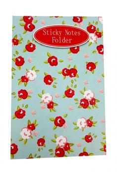Spring Flower Sticky Notes Folder