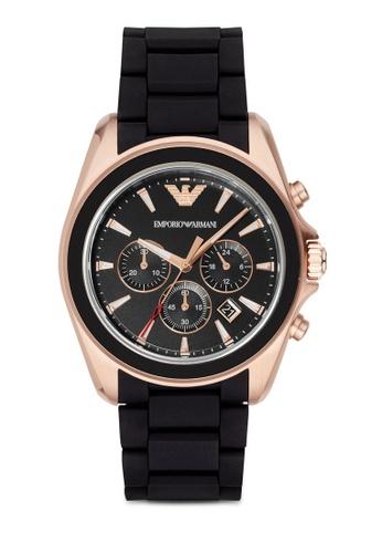 Emporio Armani multi ARMANI Sigma Multi Rubber Watch AR6066 AR024AC0RTG3MY_1