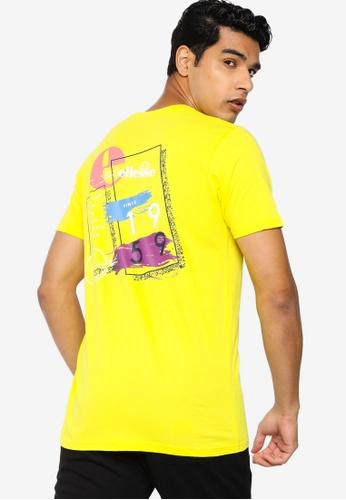 ellesse yellow Saigo Tee FDAA3AAA992358GS_1