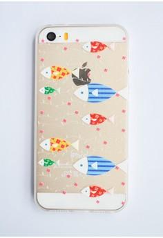 Fish Line Sof Transparent Case for iPhone 5/5s