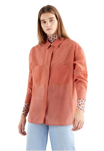Levi's red Levi's Eunice Utility Shirt Aragon (28934-0004) A3EFCAA564A5ACGS_1