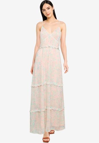 SUPERDRY pink Margaux Maxi Dress FB1B9AAEE862DAGS_1