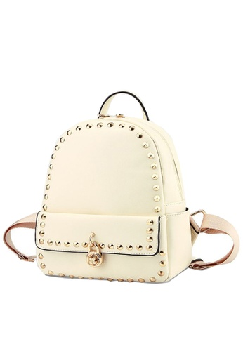 TCWK white Ladies Backpack TC258AC63JBGMY_1