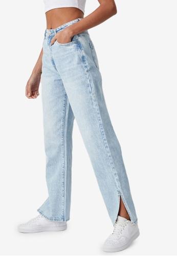 Supre blue Full Length Wide Leg Jeans BDB1AAA9BA0BBEGS_1