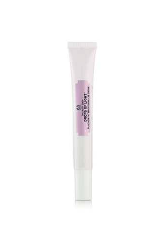 The Body Shop Drops of Light™ Pure Healthy Brightening Eye Cream TH455BE71VWQMY_1