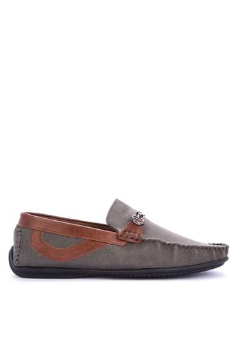 H2Ocean grey Nomar Loafers 979D5SH26AF467GS_1