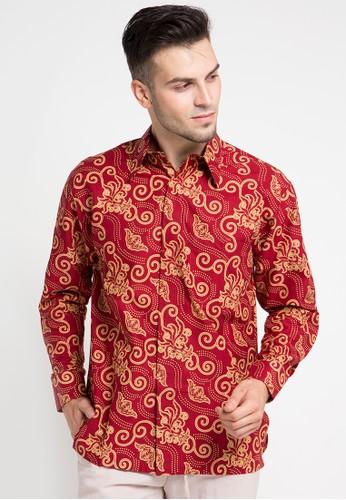 Batik Indra Loka red Long Sleeve Kelir A2191AAC84972DGS_1
