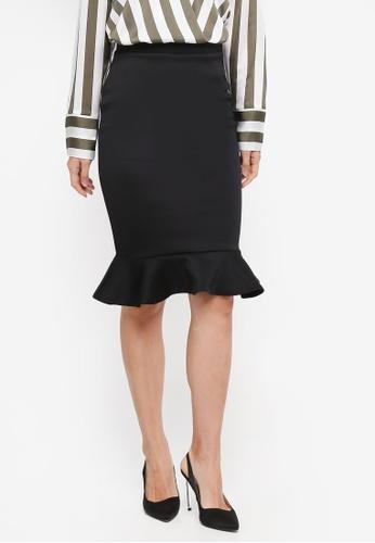Dorothy Perkins black Black Pephem Pencil Skirt 1A1E4AA3F05A9FGS_1
