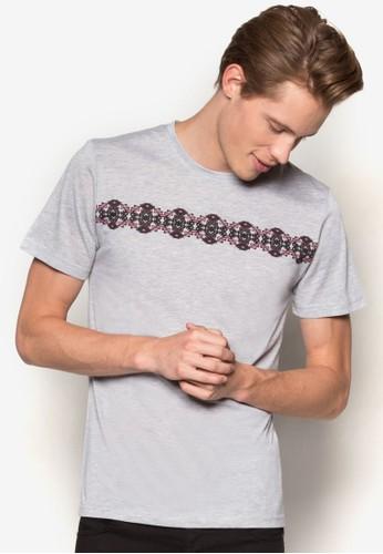 民族風圖騰短袖TEE,esprit tw 服飾, T恤