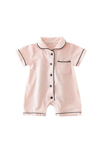 RAISING LITTLE pink Danyon Romper FC00AKAF911CBEGS_1