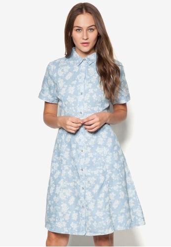 襯衫短袖連身裙, 服飾,esprit hong kong 洋裝